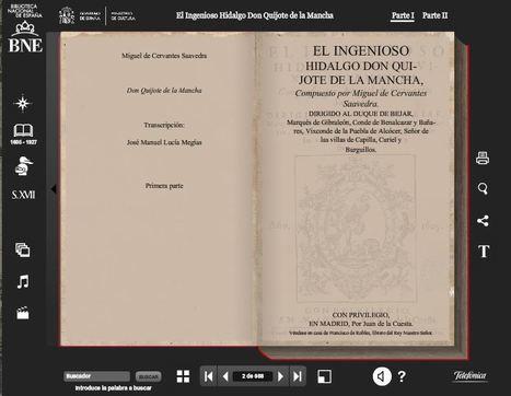 Quijote Interactivo - Biblioteca Nacional de España | Vicat Espagnol | Scoop.it