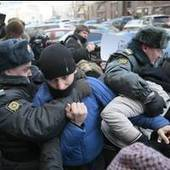 Russian police detain 20 at gay-rights rally - USA TODAY | Police Problems and Policy | Scoop.it
