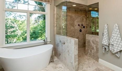 Phòng tắm kính hiện đại kết hợp với cố điển | Phụ kiện VVP Thái Lan | Scoop.it