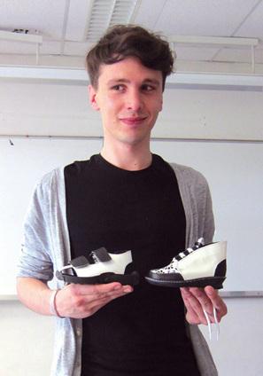 Portrait de Bastien Carsana, étudiant en stylisme chaussure myCTC.fr   Élèves et anciens du Cnam   Scoop.it
