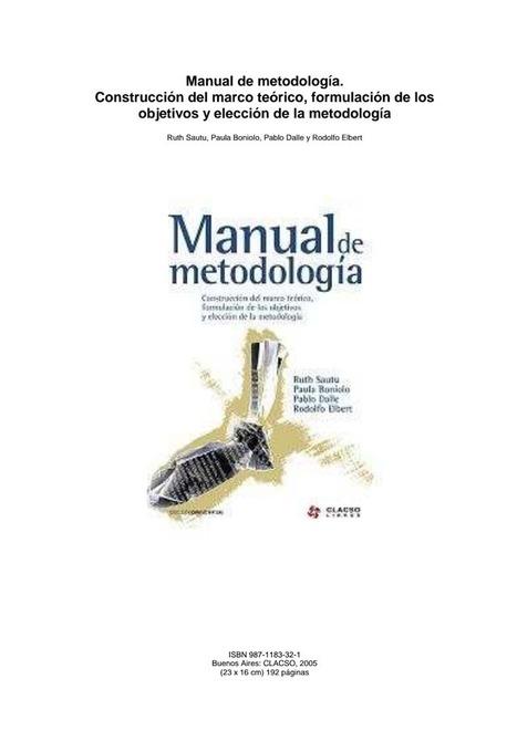 Manual de metodología de la Investigación | Educar en la Sociedad del Conocimiento | Scoop.it