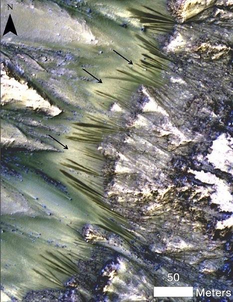La Mars Orbiter encuentra indicios de probable agua líquida en la superficie marciana | GeeKeando | Scoop.it