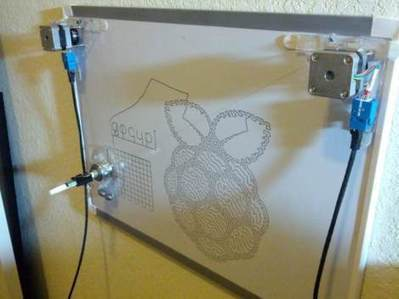 Raspberry Pi driven Polargraph exhibits high precision drawing ability | Arduino Geeks | Scoop.it