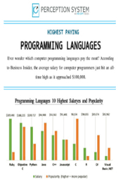 10 Highest Paying Programming Languages in 2015 - Infographic | Web Development Blog, News, Articles | Scoop.it