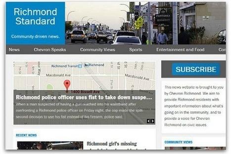 Chevron's brand journalism site draws criticism | Relations publiques et communications | Scoop.it