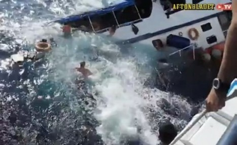 Horrifying Video: Diving Boat Sinks into Ocean Amid Screams as Passengers Scramble for Their Lives | All about water, the oceans, environmental issues | Scoop.it