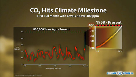 New CO2 Milestone: 3 Months Above 400 PPM | Climate Central | ENVIRONMENTAL FINDINGS THAT MIGHT AMAZE YOU | Scoop.it