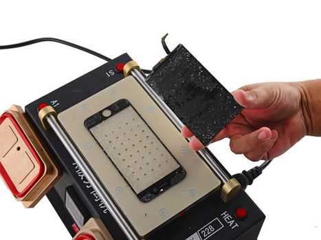 How to Disassemble iPhone 6S LCD for Glass Screen Replacement | Cellphone Tips & Tricks | Scoop.it