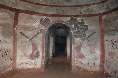Ancient Artwork Found Intact In Looted 'Mural Tomb' | Aux origines | Scoop.it