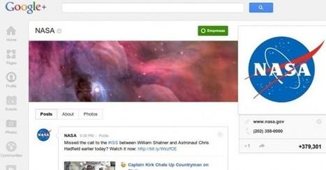 La NASA realizará su primer Hangout de Google Plus con una estación espacial.- | Lo nuevo del mundo movil | Scoop.it
