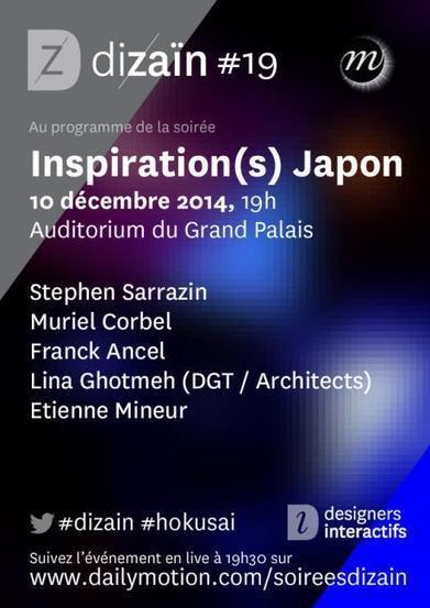 Soirée inspiration(s) Japon ce mercredi à l'Auditorium | Artistes de la Toile | Scoop.it