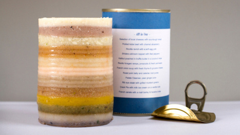 An elaborate 12-course meal squeezed into one can | Strange days indeed... | Scoop.it
