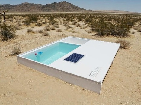 A Secret Little Swimming Pool Art Installation in the Mojave Desert | Strange days indeed... | Scoop.it