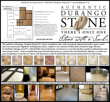 3 of 13 Arizona Travertine Tile Flooring Designer Patterns | Natural Stone Travertine Tiles | Scoop.it