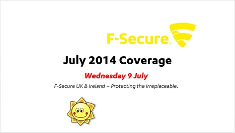 July Coverage (9th) | F-Secure Coverage (UK) | Scoop.it