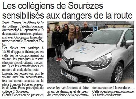 Centre Presse - mardi 22 mars 2016 | e-revue de presse sourezes | Scoop.it