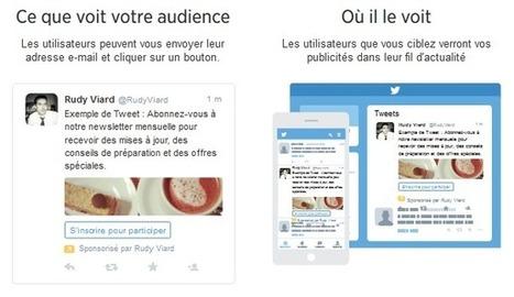 Les formats de Publicité sur Twitter | Actualités médias sociaux | Scoop.it