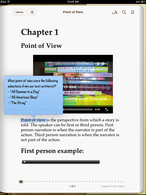 Creative Book Builder | iPads in university lecturing | Scoop.it