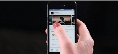 Facebook: des vidéos pub dans le fil d'actualités | Focus Mobile Marketing | Scoop.it