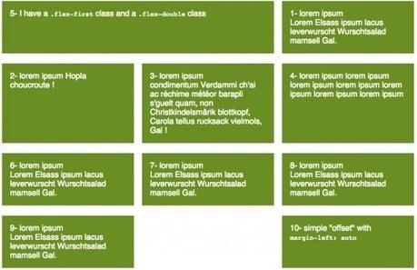 Une grille responsive avec CSS3 Flexbox et LESS (ou Sass)   CSS3 et HTML5   Scoop.it