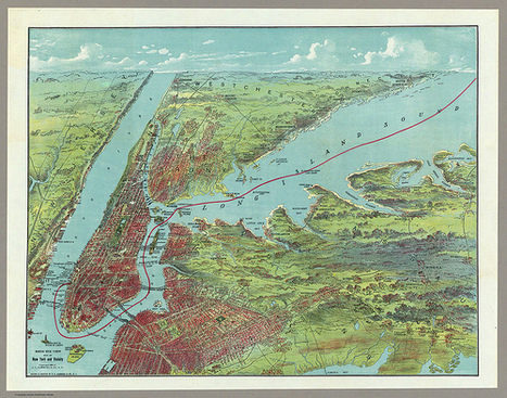 BibliOdyssey: Bird's Eye New York | GenealoNet | Scoop.it