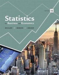 Test Bank For » Test Bank for Statistics for Business and Economics, 12th Edition : McClave Download | Business Statistics Test Bank | Scoop.it