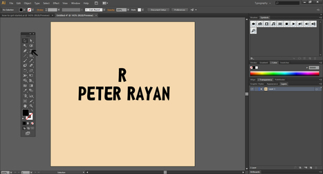 How To Add Colors And Shades To Text In Illustrator | Designhill | Scoop.it