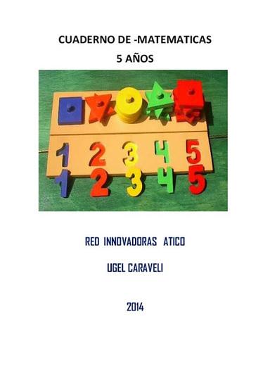 Infantil y Primaria: Cuaderno de matemáticas de 5 años | Matemáticas para alumnado con dificultades de aprendizaje | Scoop.it