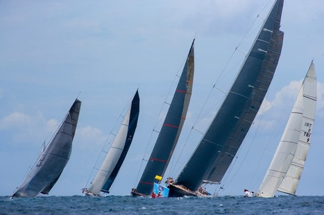 ScanVoile: Régates / Huit Maxis, 48 voiliers engagés, le spectacle devrait être assuré aux Voiles de Saint-Barth ! | sailing | Scoop.it