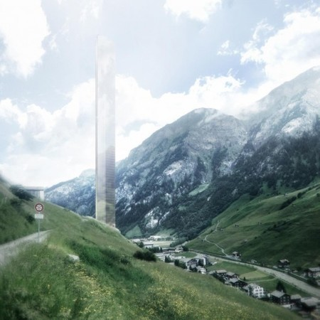 Switzerland: Tallest building in Europe planned for ... a small Alpine village? | Adam Williams | GizMag.com | 911 | Scoop.it