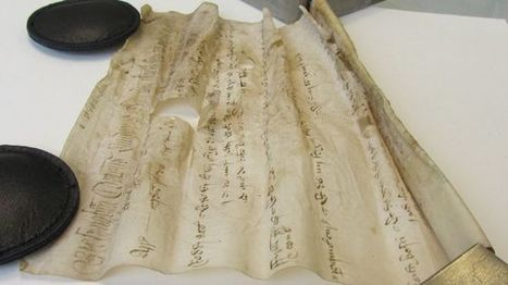 """3D X-ray technology to reveal secrets of 'unreadable' 15th century scroll - Fox News 