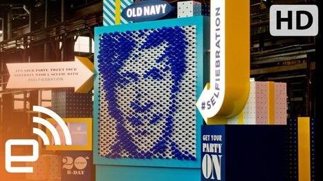 Old Navy Selfiebration Machine - YouTube | Social Media Guru | Scoop.it