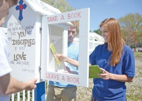 Little Free Libraries: A senior class works together to leave a legacy for ... - The Commercial Dispatch | Libraries | Scoop.it