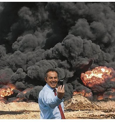 #17 Scoop de la semaine : POUR L'ÉTERNITÉ – Le «selfie» de Tony Blair et la guerre en Irak | La révolution numérique - Digital Revolution | Scoop.it