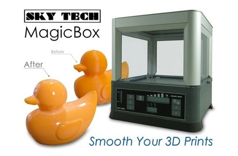 MagicBox : post-production facile des impressions 3D ABS et PLA | 3D | Scoop.it