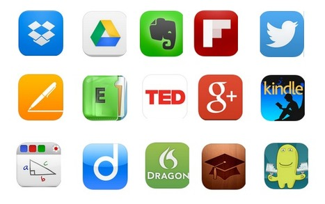 The Best 15 iPad Apps for Teacher Professional Development ~ Educational Technology and Mobile Learning | Library and information skills | Scoop.it