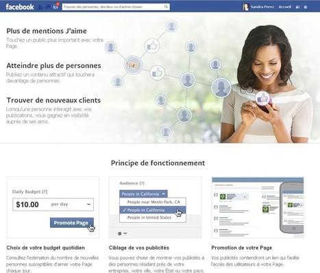 La promotion de page Facebook ou publicité | Vigie-facebook | Scoop.it