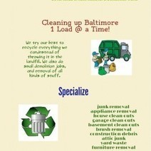 Junk Removal Services Maryland | Visual.ly | Junk Removal Maryland | Scoop.it