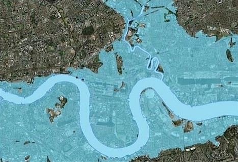 What London Would Look Like If the Thames Barrier Failed | Archivance - Miscellanées | Scoop.it