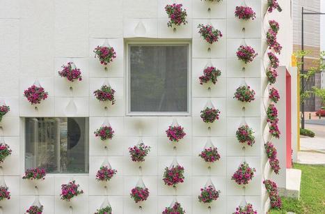 Un nouveau revêtement mural pour fleurir sa façade | Conseil construction de maison | Scoop.it