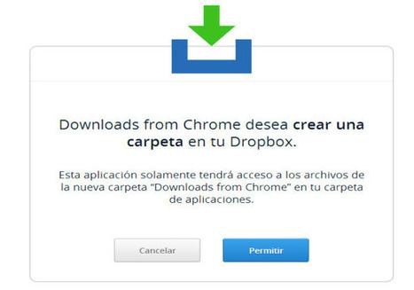 Para guardar archivos directamente en Dropbox desde Chrome | MECIX | Scoop.it