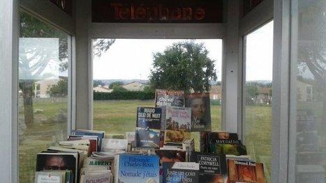 Le Tarn ouvre sa plus petite bibliothèque municipale... dans une cabine téléphonique - France 3 Midi-Pyrénées | O.B.N.I | Scoop.it