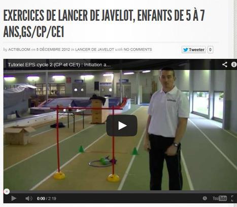 Lancer De Javelot | Actibloom Sport | Actibloom, Vidéos d'éveil au sport pour enfants | Scoop.it