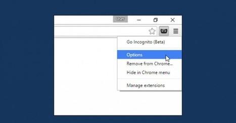 Una manera simple de navegar en modo incógnito desde cualquier pestaña de Chrome | Educacion, ecologia y TIC | Scoop.it