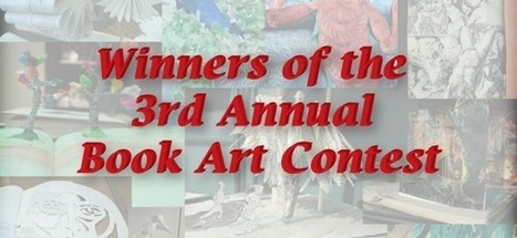 Winners of the 3rd Annual Book Art Contest – Greenville College Papyrus | Books On Books | Scoop.it