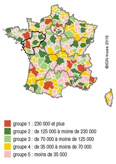 Insee > Une attractivité économique soutenue à l'ouest de la région, plus fragile à l'est   Observer les Pays de la Loire   Scoop.it