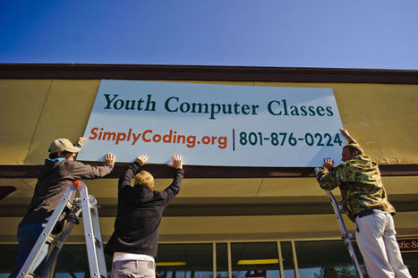 Simply Coding: Making coding fun for kids - Daily Herald | computer lab | Scoop.it