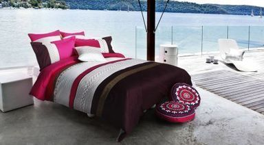 River Side 3-Piece Embroidered Duvet Cover Set | Backs2Beds.ca | Buy Online Office & Home Furniture at Backs2Beds.ca | Scoop.it