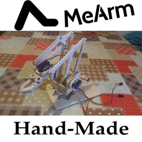 Hand-Made MeArm controlled with Arduino | Raspberry Pi | Scoop.it