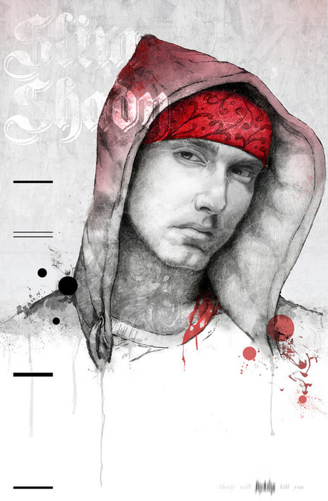 Hip Hop Portraits by Michael Molloy | Graphic Design and Art Photography Inspiration | Teaching Economics | Scoop.it